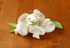 Fresh button mushrooms Royalty Free Stock Images