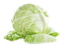 Fresh cabbage. Royalty Free Stock Images