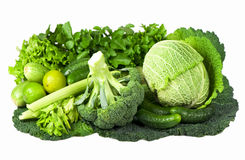 Fresh cabbage and carrot Royalty Free Stock Photos
