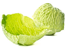 Fresh cabbage early Royalty Free Stock Photos