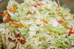 Fresh cabbage salad. With selective focus Royalty Free Stock Images
