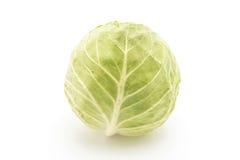Fresh cabbage on white Royalty Free Stock Photos