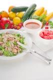 Fresh caesar salad Stock Images
