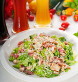 Fresh caesar salad Stock Photos