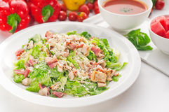Fresh caesar salad Stock Photography
