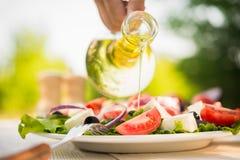 Fresh Caesar Salad Stock Photography