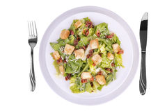 Fresh caesar salad Royalty Free Stock Image