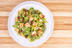 Fresh caesar salad Royalty Free Stock Photos