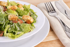 Fresh caesar salad Royalty Free Stock Photography