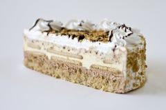 Fresh cake. A closeup view of the piece of a fresh cake Stock Photo