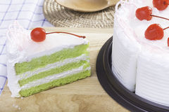 Fresh cake Stock Images