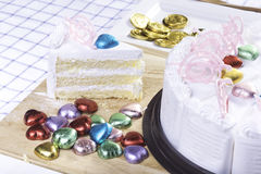 Fresh cake Royalty Free Stock Photography