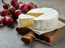 Fresh camembert cheese Royalty Free Stock Photo
