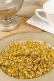 Fresh camomile for tea Stock Photos