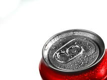 Fresh Can of Soda with Condensation royalty free stock photos