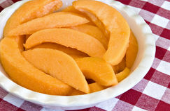 Fresh cantaloupe Royalty Free Stock Photos