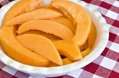 Fresh cantaloupe Royalty Free Stock Photos