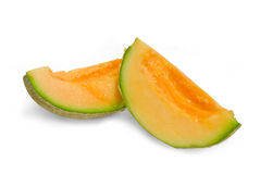 Fresh cantaloupe melon Stock Photography