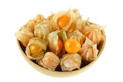 Fresh Cape Gooseberry Stock Images