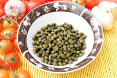 Fresh capers Royalty Free Stock Photos