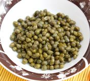 Fresh capers Stock Photo