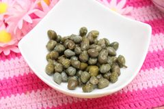 Fresh capers Stock Image
