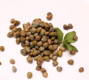 Fresh capers Royalty Free Stock Image