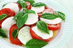 Fresh Caprese Salad Stock Images