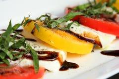 Fresh Caprice Salad Royalty Free Stock Images