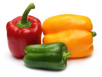 Fresh Capsicums Royalty Free Stock Image