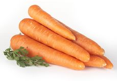 Fresh Carrot Royalty Free Stock Images