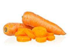 Fresh carrot Royalty Free Stock Image