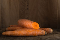 Fresh carrot bunch Royalty Free Stock Photography