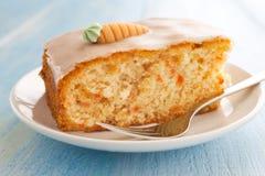 Fresh Carrot Cake Stock Photography