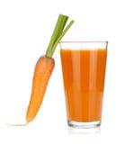 Fresh carrot juice Royalty Free Stock Image