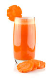 Fresh carrot juice concentrate Royalty Free Stock Photography