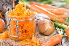 Fresh Carrot Salad Stock Photography