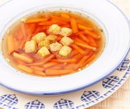 fresh carrot stew Royalty Free Stock Image