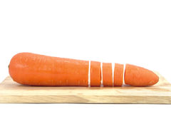 A fresh carrot. Stock Image