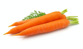 Fresh carrots Stock Photo