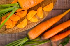 Fresh carrots Stock Photos