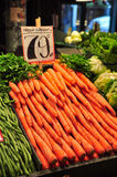Fresh Carrots In Market Royalty Free Stock Photography