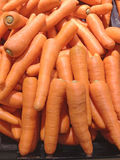 Fresh carrots in the market Royalty Free Stock Images