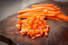 Fresh carrots. Stock Photography