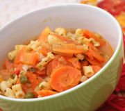 Fresh carrots stew Royalty Free Stock Image