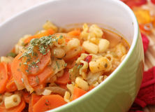 Fresh carrots stew Stock Images