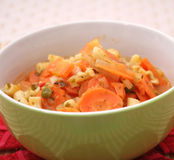 Fresh carrots stew Royalty Free Stock Photography