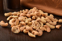 Fresh cashews Royalty Free Stock Photo