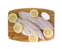 Fresh Catfish Fillets Stock Images
