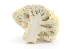 Fresh cauliflower cabbage vegetable Stock Image